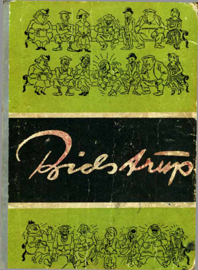 Albumas karikaturos(H.Bidstrupas)